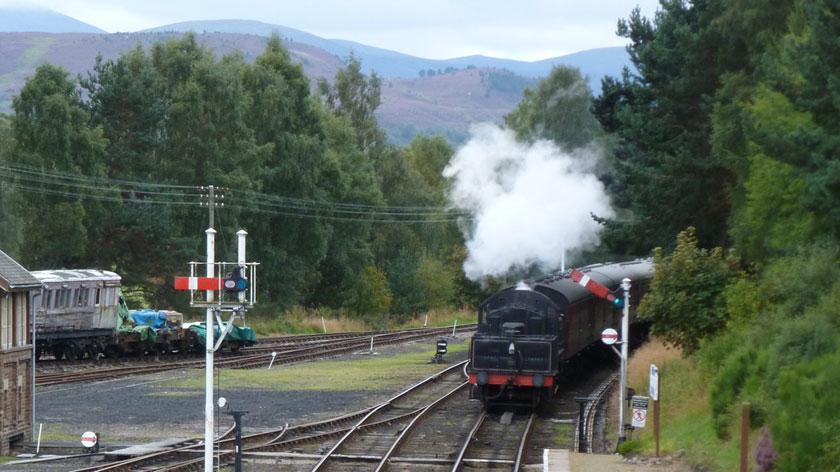 Steam train - Aviemore - Cairngorms