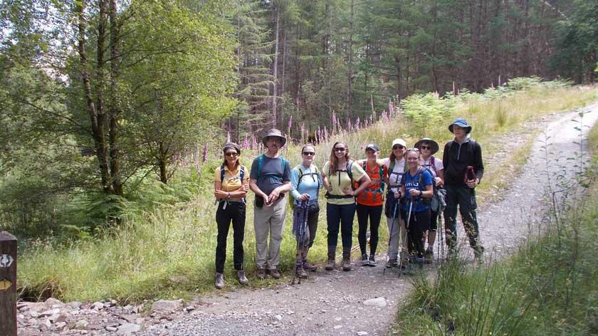 Travellers-walking-west-highland-way