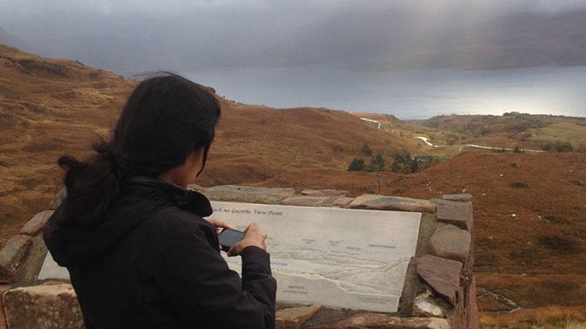 cell-phone-camera-scottish-hiking
