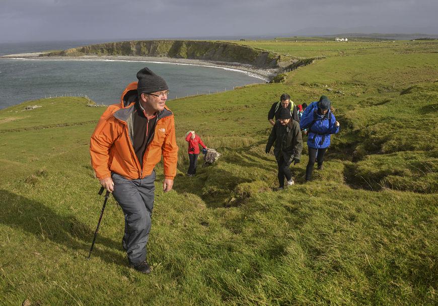 Archeology hike Connemara