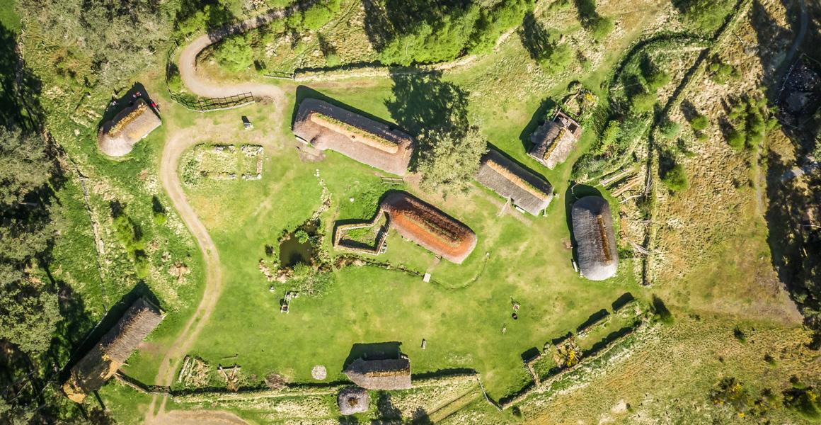 Outlander Locations the Highland Folk Museum